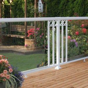 exclusive to the home depot peak aluminum railing