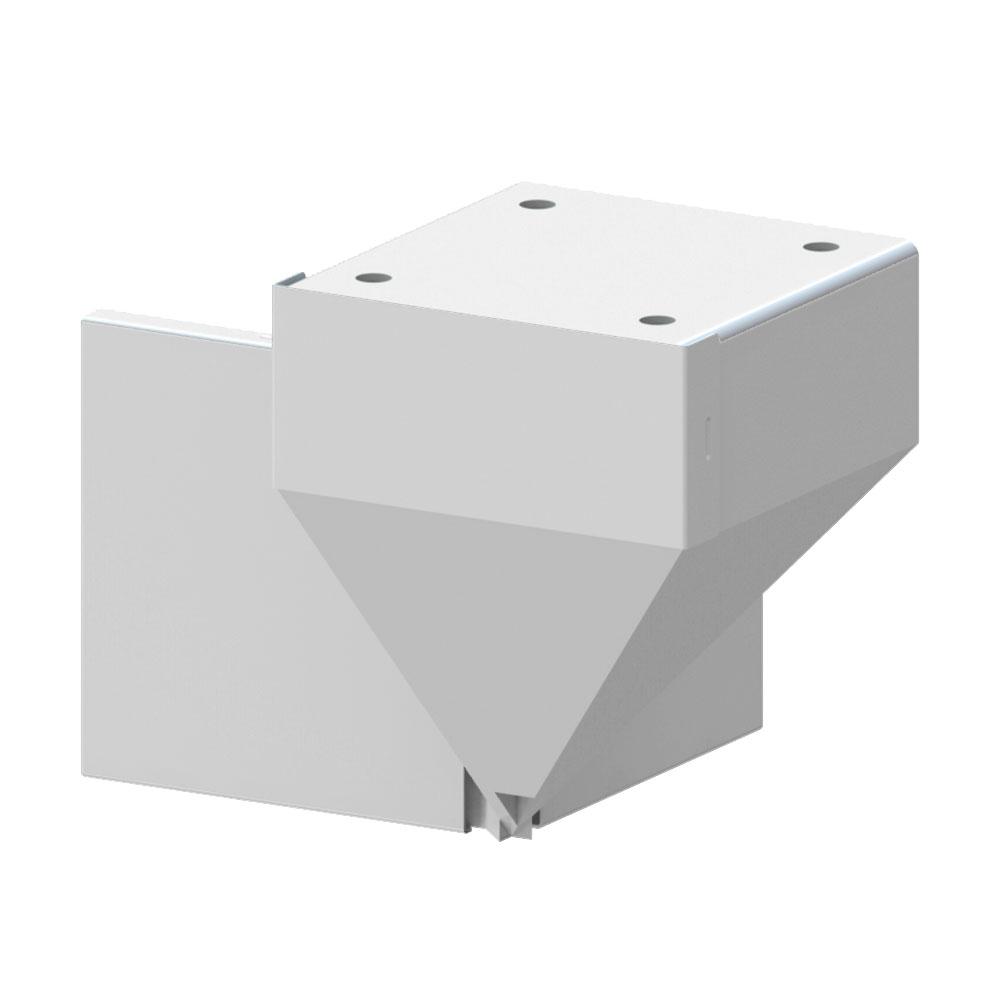 Install Connectors Amp Brackets Peak Aluminum Railing