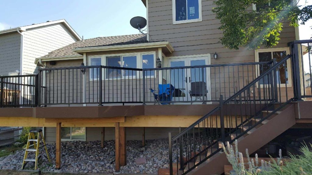 Home Depot Layout Design Exclusive To The Home Depot Peak Aluminum Railing